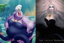 Ariel/Ursula Costume Inspiration / by Rachael | Spache the Spatula
