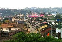 Madikeri Attractions / Attractions in Madikeri town, a hill station in south india.