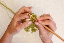 how to (crochet)