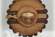 DIY - kaarten - koffie en thee e.d.