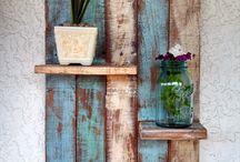 Gebruikt hout meubels