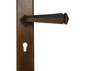 Door Handles Bronze
