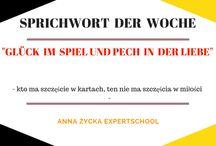 DEUTSCHE SPRICHWÖRTER / Ucz się przysłów raz w tygodniu: niemieckie przysłowie w polskim tłumaczeniu