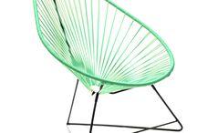 Le fauteuil Acapulco / Toute les couleurs dispo du Fauteuil Acapulco et Bientôt les Multicolores
