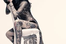 Tattoos and More Tattoos / by Gabrielle Villegas