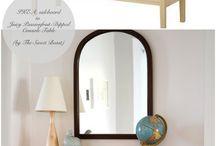 mobílias transformadas e decoração de ambientes / reciclagem de moveis antigos, ambientes etc.
