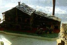 Casette in miniatura / Baite di montagna