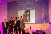Luxury Packaging Awards London September 2015 / Luxury Packaging Awards was created to celebrate the latest innovations in luxury and premium packaging.  MW Luxury Packaging is proud to have won the Manufacturer of the year award.
