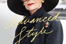 Stylish beautiful older people