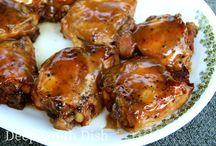Slower Cooker Brown Sugar Chicken / Slow Cooker