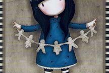 Gorjuss y muñecas