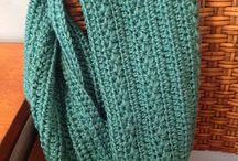 Узоры шарфа-хомута