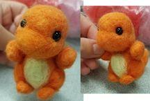 needle felt pokemon