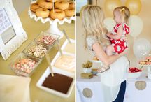 Donut Birthday Party / by Laura H -- Hoosier Life, Hoosier Wife
