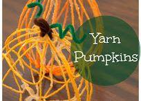 Fall: Pumpkin / by Cassie Osborne (3Dinosaurs.com)