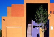 Colores en fachadas