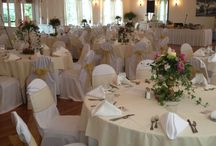 Reception Room / Reception Room at the Foster Country Club accommodates up to 150 wedding guests