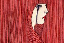 IlustradorAS / Trabajos de las chicas que me inspiran.