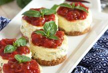 Savoury Cheesecakes
