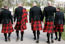 Royal Stewart Tartan Kilt / This Tartan is also used by the clans and in festivals for bands. The Royal Stewart Band Tartan is also used by the queen's guards.
