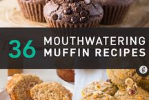 Muffins, Sweet and Savoury / Every kind of muffin under the sun! Healthy and not so healthy, fruity, nutty, with or without chocolate, cheesy, chock full of veggies, etc.. etc..whatever your little heart desires, whatever tingles your tastebuds...