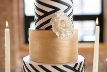 Golden/B&W/20s wedding deco / B&W, wedding Xmas Deco, 20s, Greek wedding, lafetegr