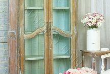 Muebles / Muebles pintados, antiguos, recuperados... / by Anna Bedmar
