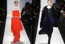 winter bright- white, cobalt, and coral / by Docica Magazine