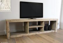 Steigerhouten TV-meubels