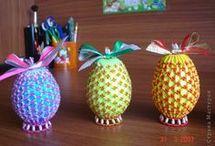 húsvéti gyöngyöstojás