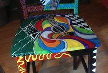 Have a seat, Dearie! / Painted furniture / by Eleanor Petersen-Kamieniecki