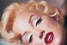 Pinup style makeup/Marilyn