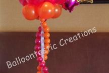 Table Centerpiece Ideas / Balloon Decorations