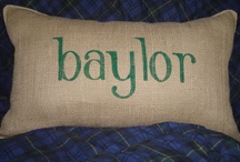 Baylor Green & Gold / by Michelle Davis