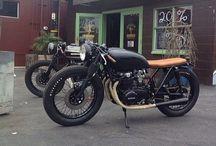 Motos café race