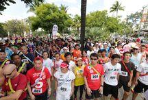 2013 Honolulu Rainbow EKIDEN / Our first EKIDEN (5K x 5 men relay race) took place in Waikiki!!