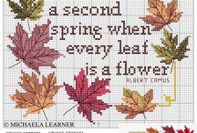Cross Stitch Autumn Patterns