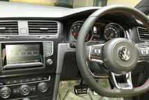 Golf 7 GTI / Interior of Golf 7