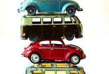 Tin VW Toys