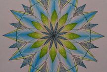 Chameleon Pen Mandala's / Great examples of Chameleon Color Tones Mandala's to amaze and inspire you