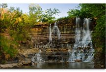 Waterfall Dams in Kansas / Dams in Kansas  / by Kansas Dams