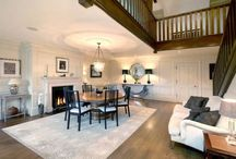 Ideal home stairs/dining hall