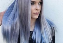 Blue(ish) Hair