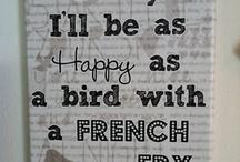 favourite sayings
