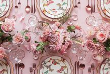 Tablescape / Tablescape and Table Styling Ideas