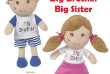 Big Brothers & Big Sisters / Celebrate becoming a big sister or big brother. Big siblings rock!
