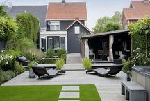 Moderne tuin / Wat volgens mij de moderne tuin is.