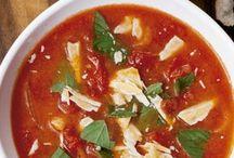 creme de tomate c/manjericão