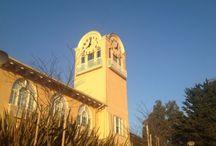 TAMALPAIS HIGH SCHOOL  TOWER CLOCKS / Tamalpais Clock Tower, 8-feet diameter skeletal, 3-sided tower fabricated and installed by LUMICHRON in Mill Valley, CA, December, 2013