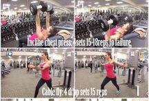 Ασκήσεις για στήθος και τρικεφαλους